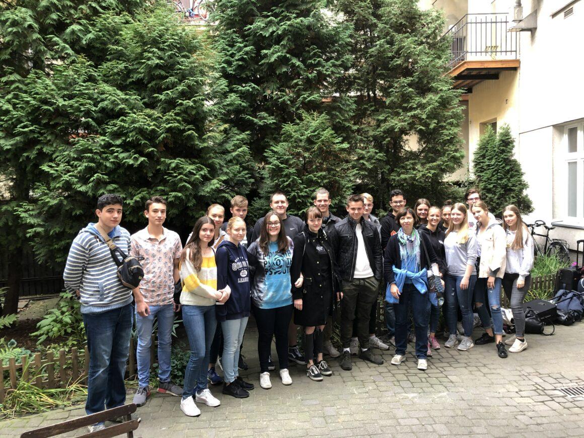 Teilnehmer der Geschichtsexkursion