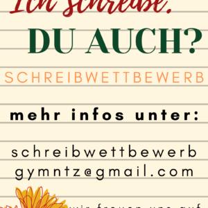 Schreibwettbewerb – neuer Abgabetermin 18. Mai 2020