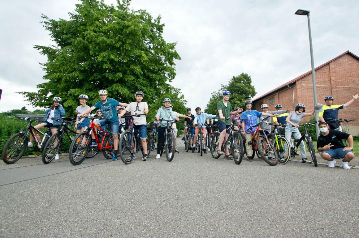 Wieder da: das SchulRadler-Projekt am Schulzentrum Neckartenzlingen!
